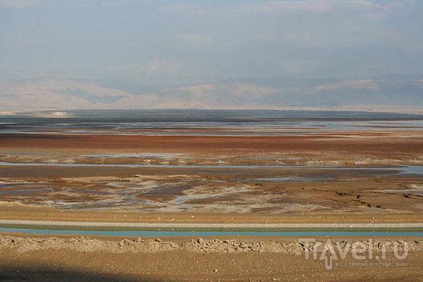 От северной части Мертвого моря прорыт канал к курортному району / Фото из Израиля