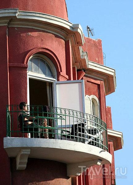 Балкон дома в Тель-Авиве / Фото из Израиля