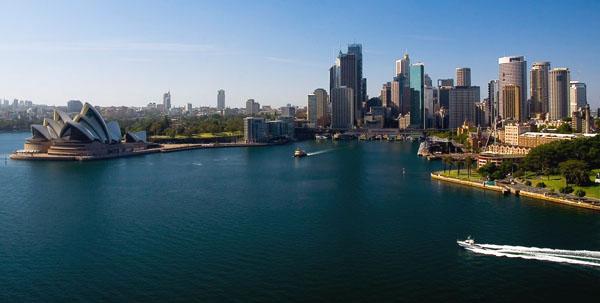 Панорама города Сидней, Австралия / Фото из Австралии