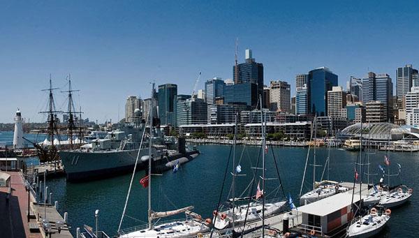 В центре Сиднея / Фото из Австралии