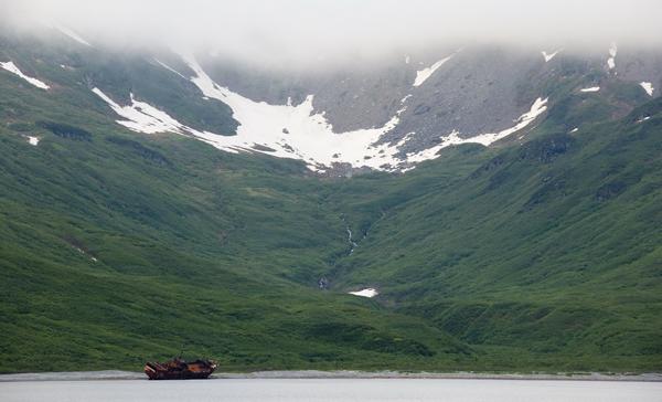 Вид на бухту Моржовая / Фото из России