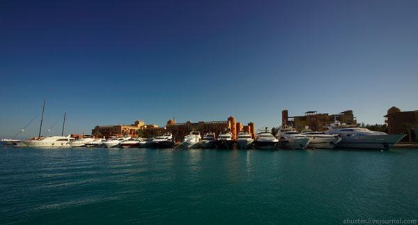 Гавань для яхт, Эль-Гуна / Фото из Египта