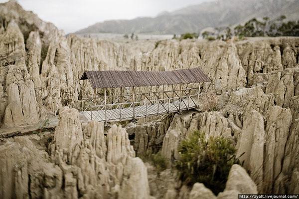 Парк в пригороде Ла-Паса, Боливия / Фото из Боливии