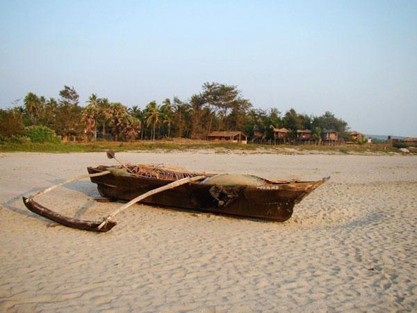 На одном из пляжей Гоа, Индия / Фото из Индии