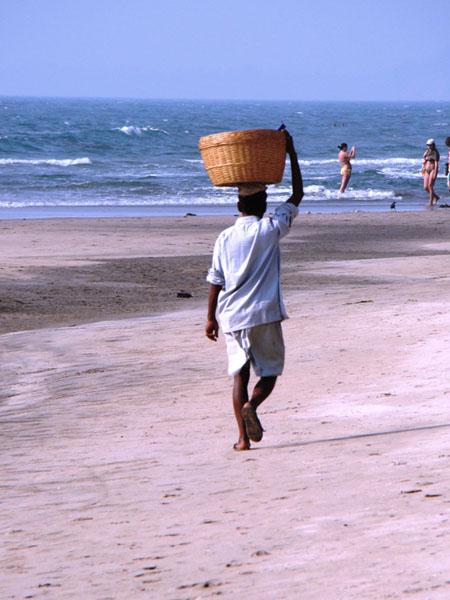 Пляж Мандрем, Гоа / Фото из Индии