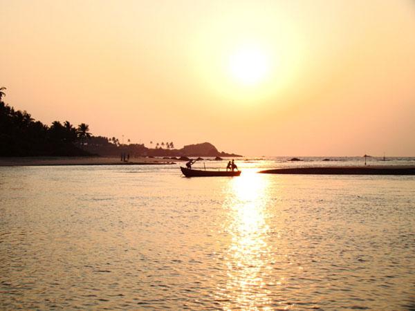 Закат у Рэди-форта, Гоа / Фото из Индии