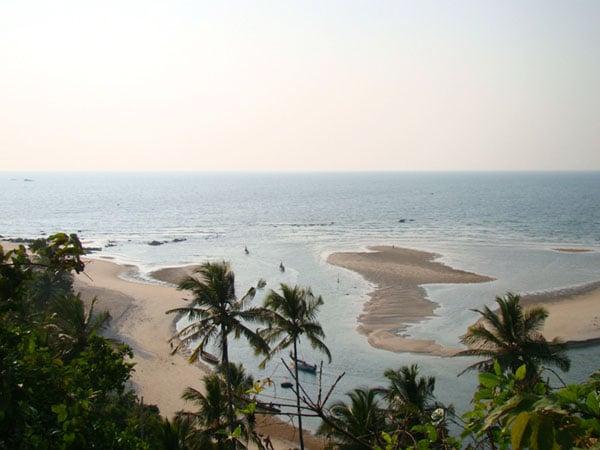 Пляж у Рэди-форта, Гоа / Фото из Индии
