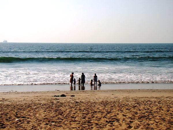 На пляже в Гоа, Индия / Фото из Индии