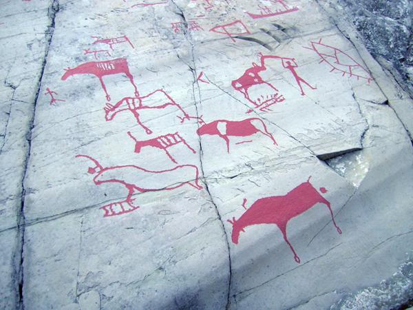 В районе Алты найдены тысячи петроглифов / Фото из Норвегии