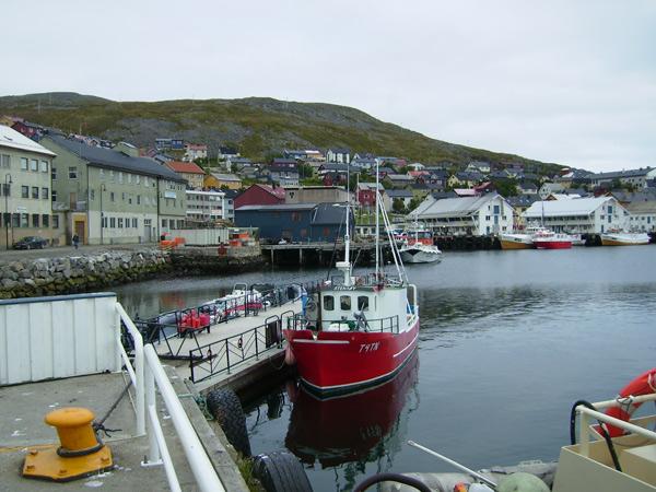 Хоннингсвог – самый северный порт в Норвегии / Фото из Норвегии