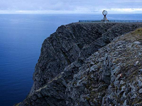Нордкап уже много лет популярен у туристов / Фото из Норвегии