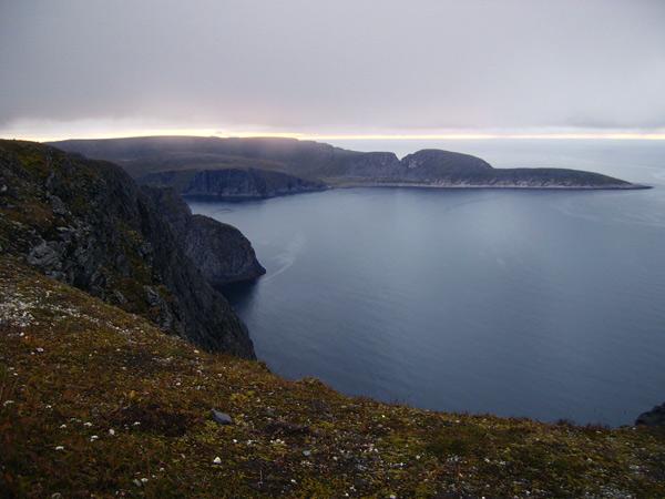 Суровый и прекрасный пейзаж губернии Финнмарк / Фото из Норвегии