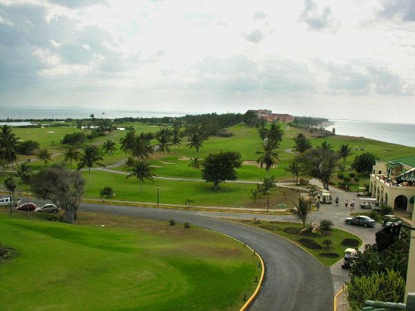 Гольф-клуб в Варадеро / Фото с Кубы