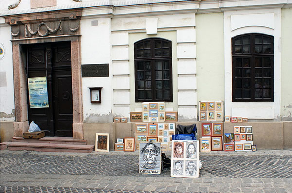 Сентендре - любимый город художников / Фото из Венгрии