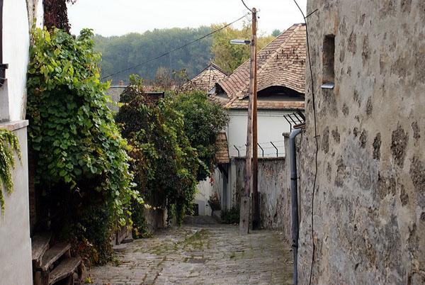 Живописные улицы города Сентендре, Венгрия / Фото из Венгрии