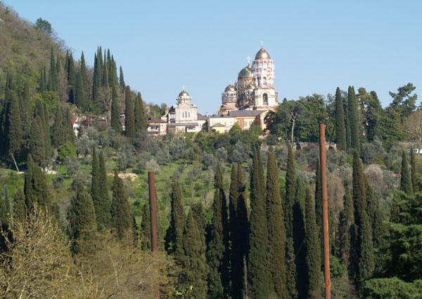 Новоафонский монастырь Святого Пантелеймона / Фото из Абхазии