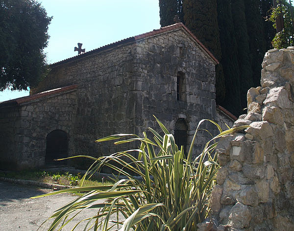 Церковь Святого Игнатия в крепости Абаата / Фото из Абхазии