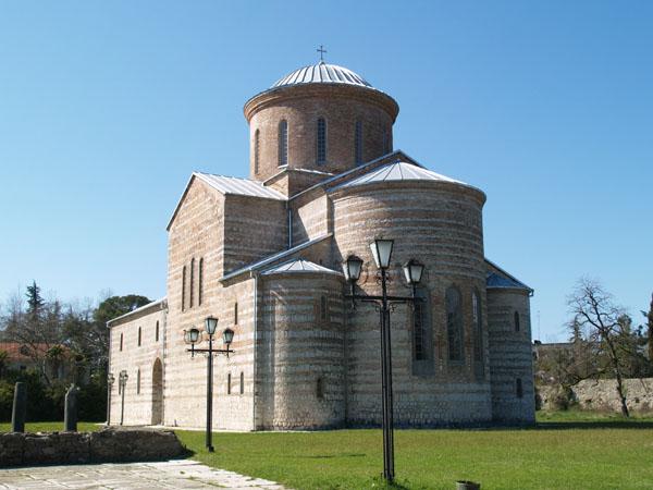 Концертный зал в церкви X века, Пицунда / Фото из Абхазии