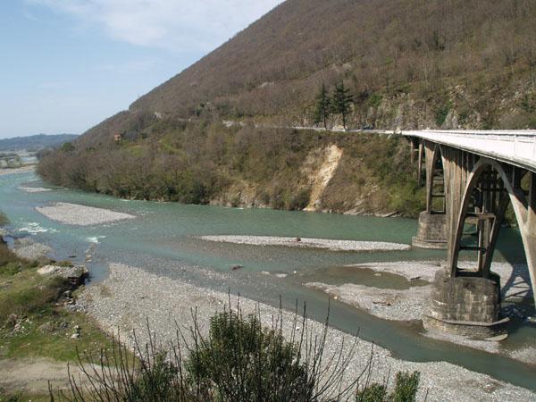 Мост через реку Гумиста, Сухум / Фото из Абхазии