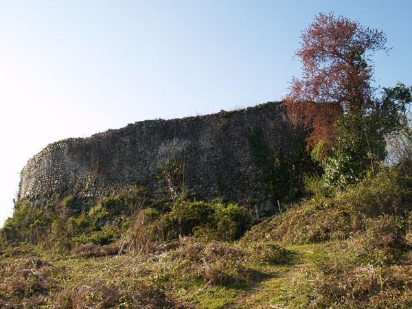 Замок Баграта возвышается над Сухумом / Фото из Абхазии