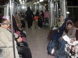 Женский вагон внутри / Египет