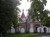Вход в церковь Рождества Богородицы / Литва