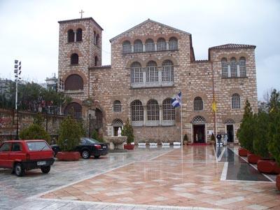 Салоники, храм Св. Димитрия / Греция