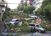 Самая кривая улица в мире / США