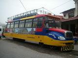 Это бывшие автобусы переделанные под жд / Эквадор