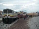 Вокзал в Риобамбе, 7 утра / Эквадор