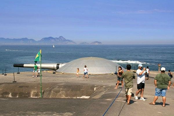 Форт Копакабана в Рио-де-Жанейро / Фото из Бразилии