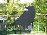 Памятник вороне / Нидерланды