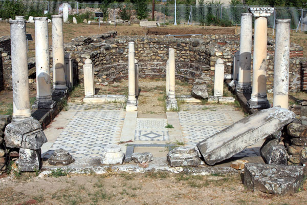 Базилика в Гераклее, Битола / Фото из Македонии