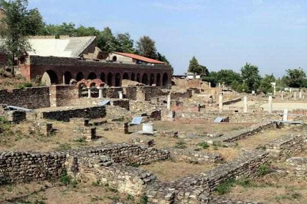 Древнеримский город Гераклея в Битоле, Македония / Фото из Македонии