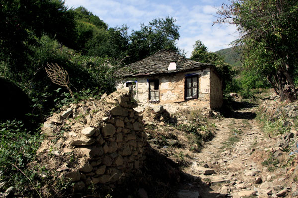 Маловишта - городок из XVI века / Фото из Македонии