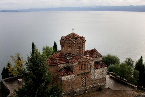Церковь Свети-Йован в Канео, Македония / Фото из Македонии