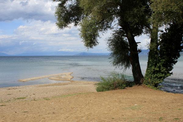 Побережье Охридского озера, Македония / Фото из Македонии