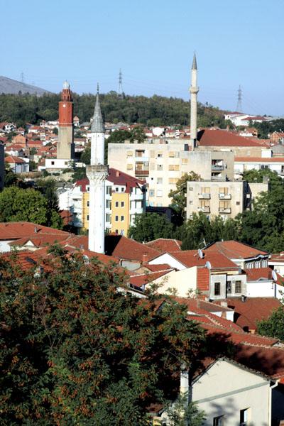 Вид на Старый город в Скопье / Фото из Македонии