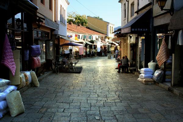 Колоритные улицы Старого города, Скопье / Фото из Македонии