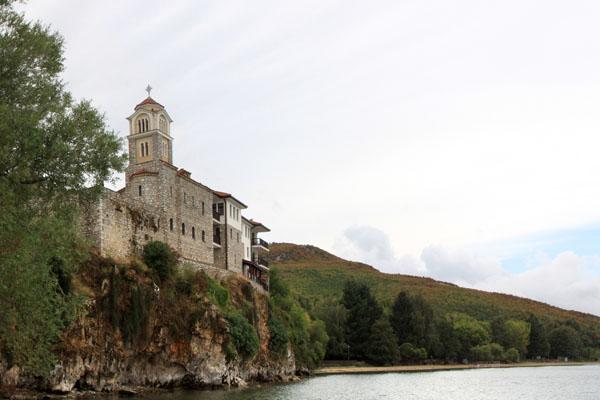 Монастырь Свети-Наум, Македония / Фото из Македонии