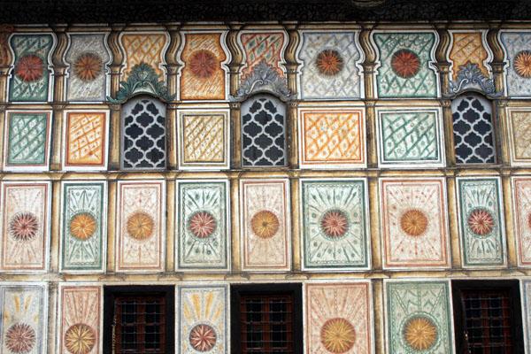 Стена Цветной мечети в Тетово / Фото из Македонии