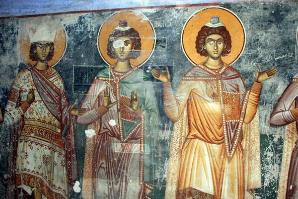 Фрески, церковь Свети-Богородица / Фото из Македонии