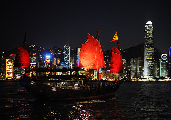Гонконг - колоритный мегаполис в Юго-Восточной Азии / Фото из Гонконга