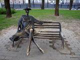 Дама на скамейке / Белоруссия