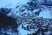Чудесный вид на деревушку / Швейцария