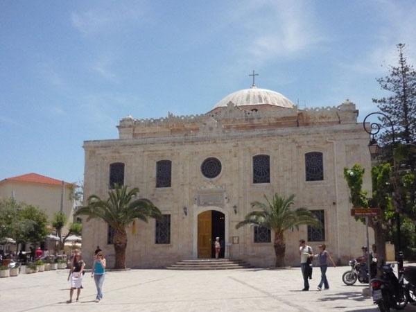 Православная церковь - вместо турецкой мечети, Ираклион / Фото из Греции