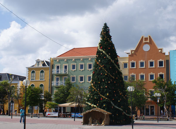 Рождество - и в тропиках Рождество, Кюрасао / Фото с Кюрасао