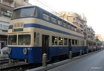 Двухэтажный трамвай / Египет