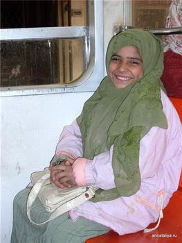 Юная пассажирка / Египет
