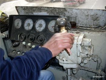 Кабина машиниста / Египет